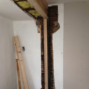 structural work in our project room | 11.6.2014