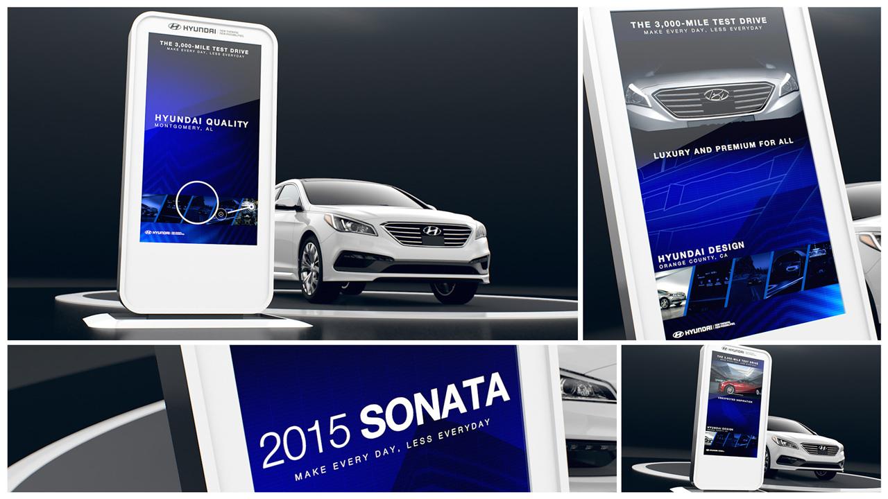 Hyundai Vertical Display
