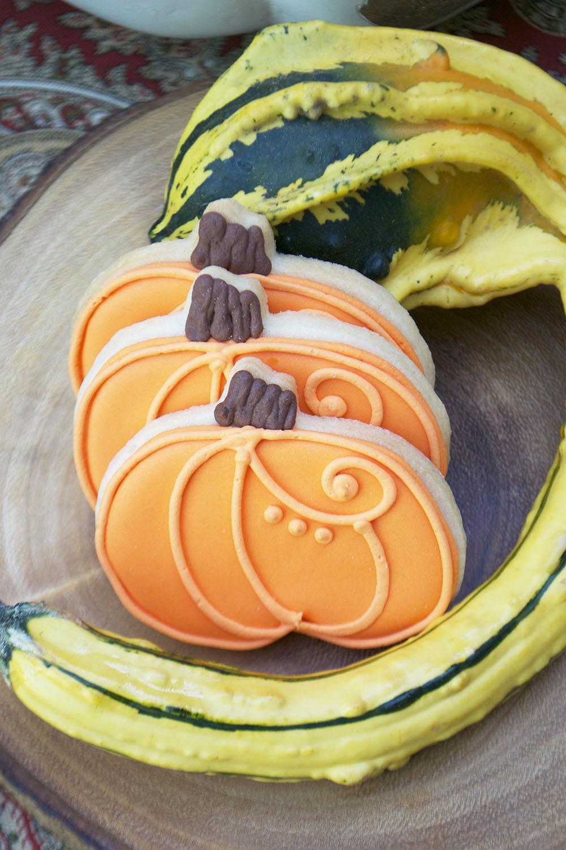 Bake Sale Toronto Thanksgiving Dinner Pumpkin Sugar Cookies Facebook.jpg