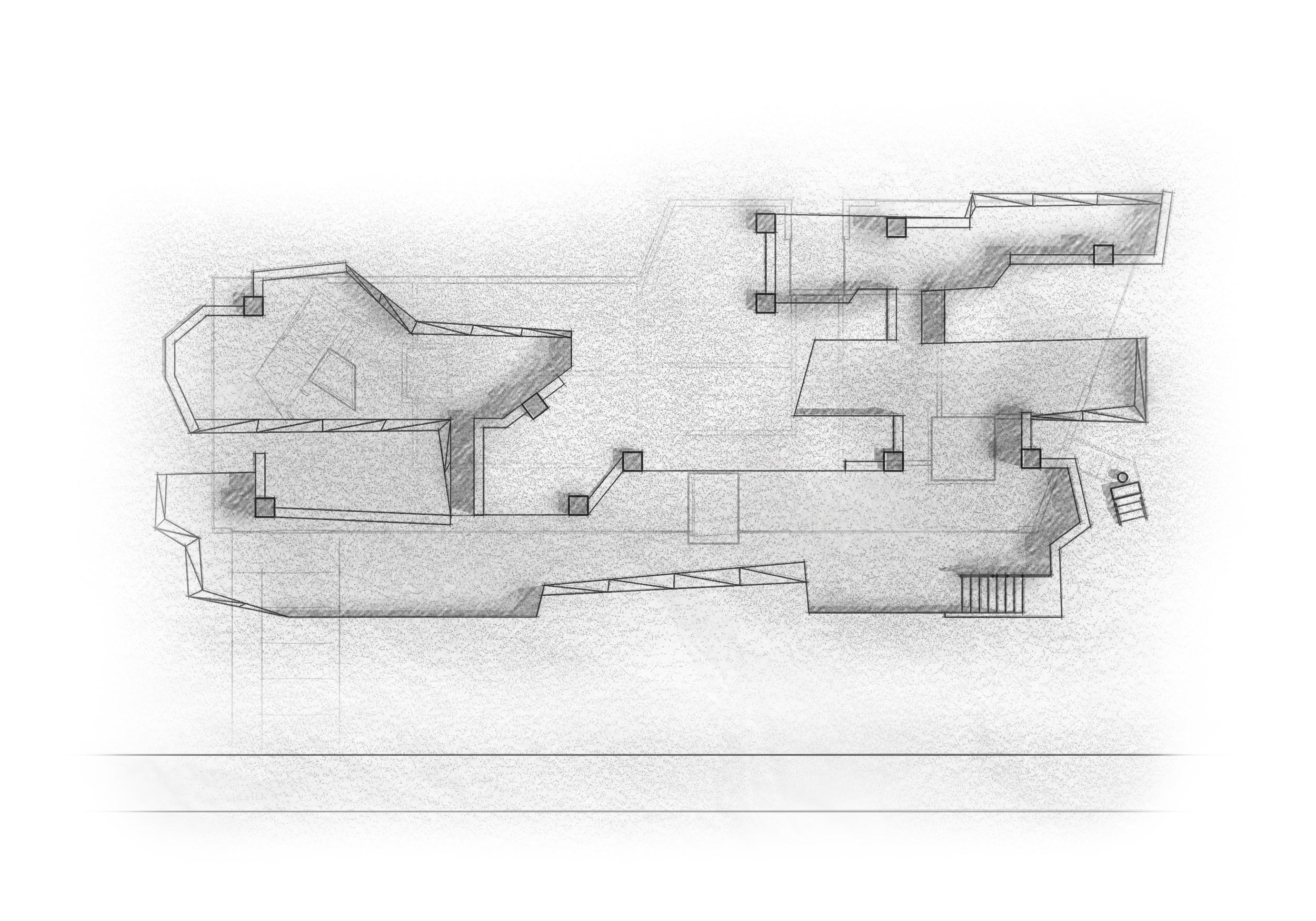 Excavated Site Plan