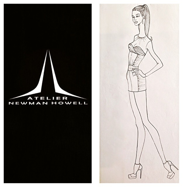 Follow my Instagram for the best and latest in Fashion Design, Fashion Styling and Fashion Illustration. Fashion Sketch. Atelier Newman Howell. #ateliernewmanhowell