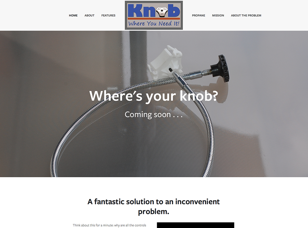 Knob Where You Need It