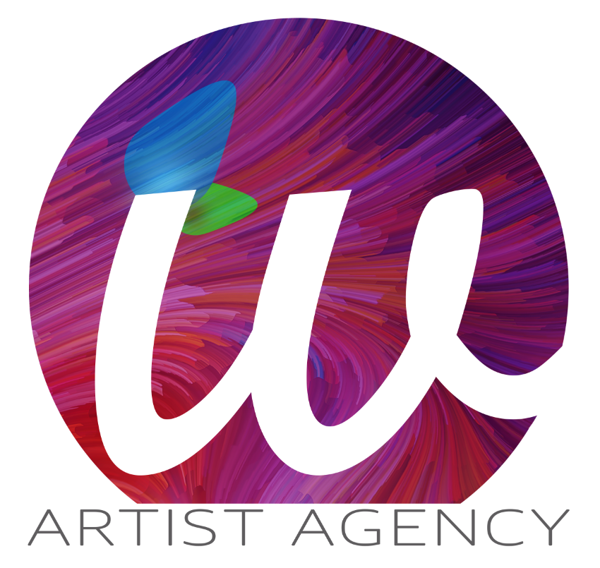 "Logo<a href=""#"">◉</a><strong>W Artist Agency</strong>"