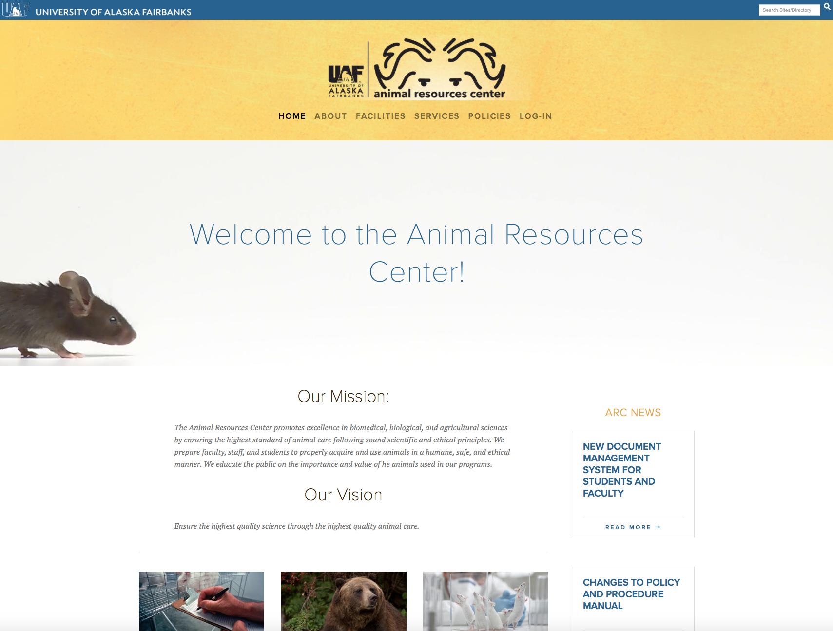 UAF Animal Resources Center