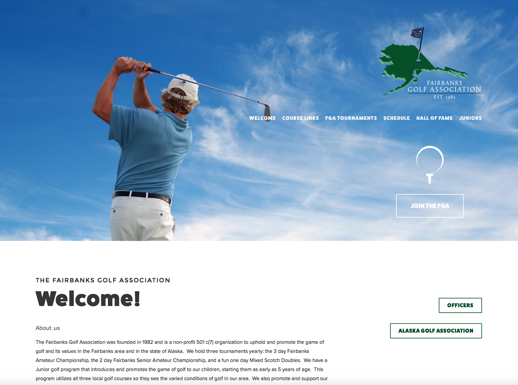 Fairbanks Golf Association
