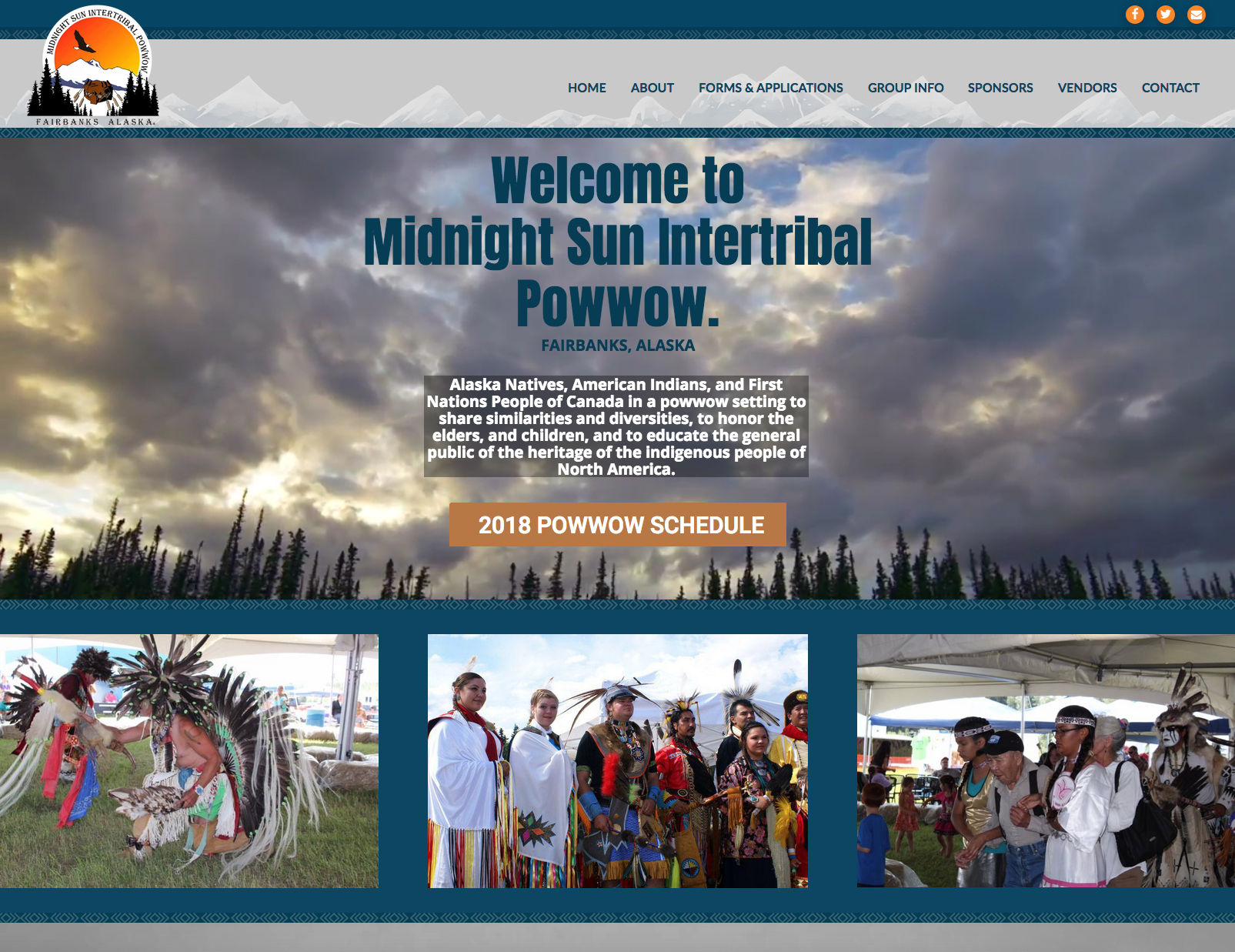 Midnight Sun Intertribal Powwow