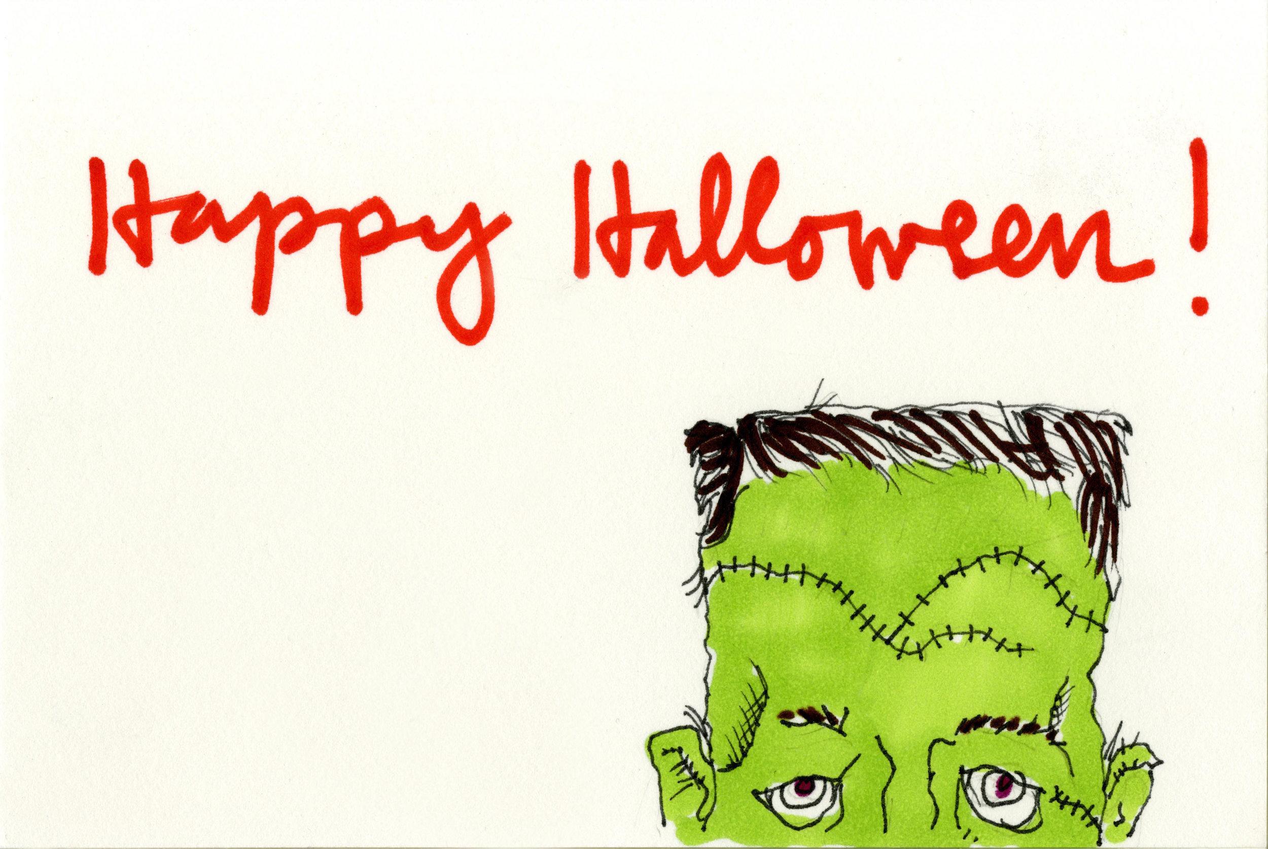 Card One : The Frankenstein's Monster