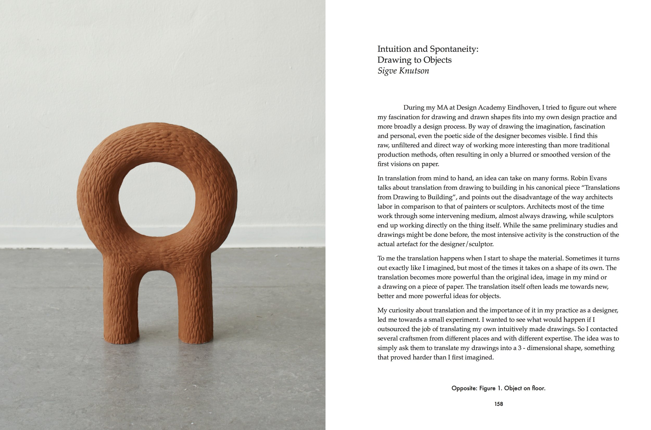 """""""Intuition and Spontaneity: Drawing to Objects"""" by"""