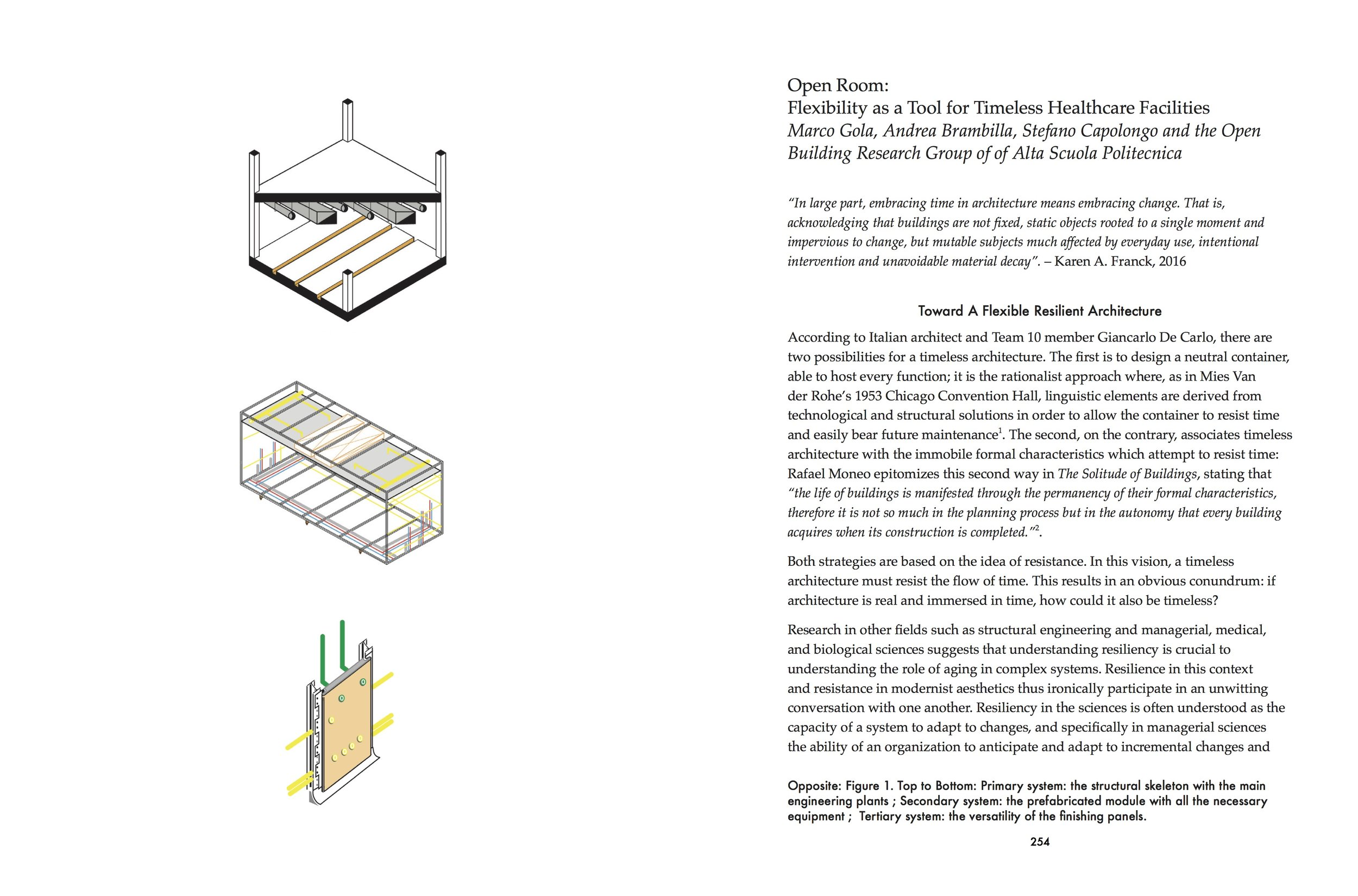 """""""Open Room"""" by Marco Gola, Andrea Brambilla, Stefano Capolongo and the Open Building Research Group."""