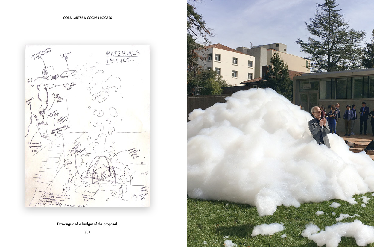 """""""Foam Parti"""" by Cooper Rogers and Cora Lautze,winner our of inaugural design/build competition."""