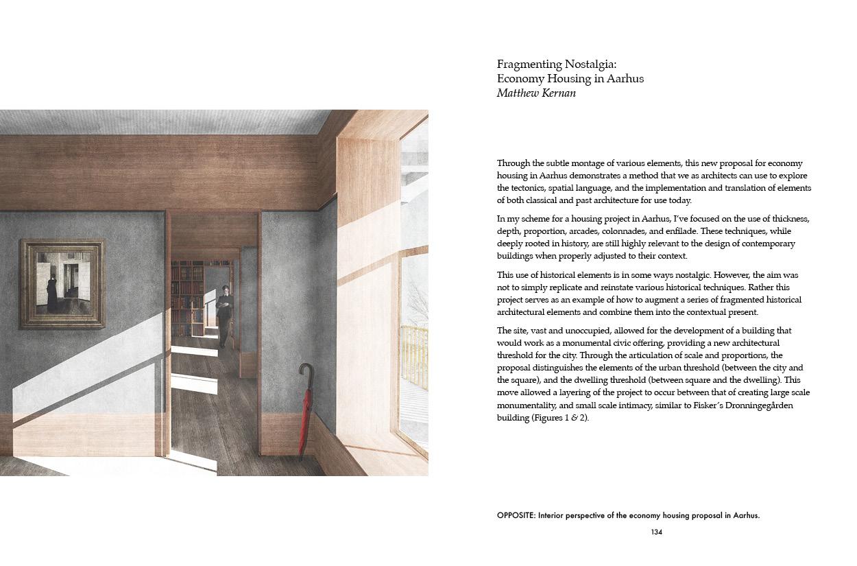 """""""Fragmenting Nostalgia: Economy Housing in Aarhus""""by Mathew Kernan."""