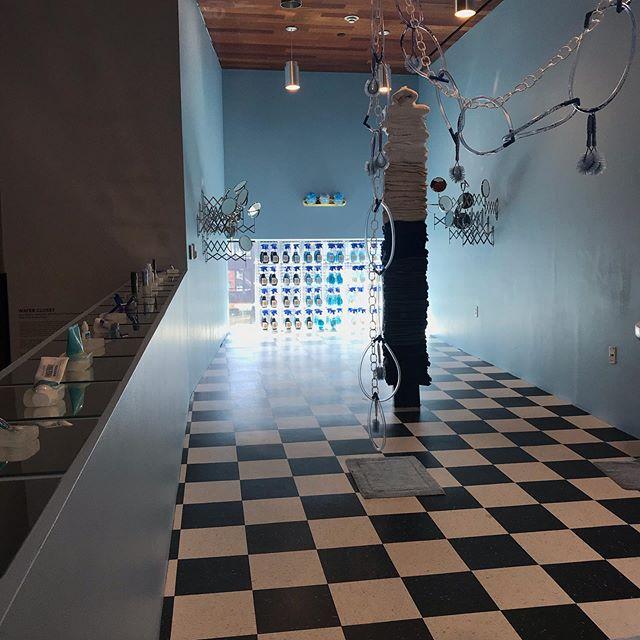 "@mca_denver teen program ""Failure Lab"" exhibit ""Water Closet"" with #marshamack #latergram #installation #sculpture"