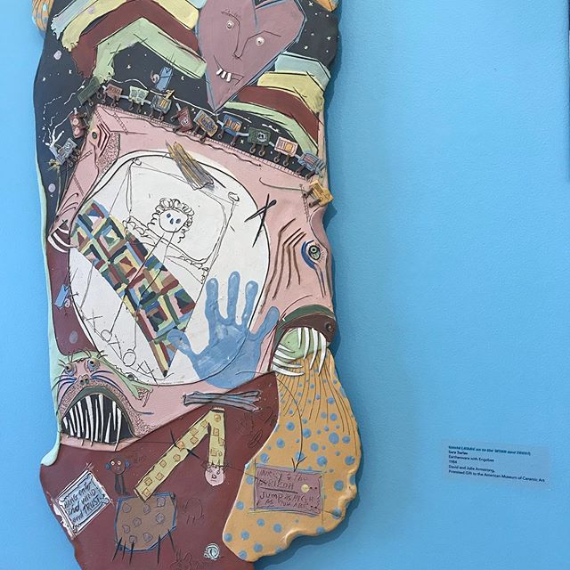 #donreitz #contemporaryceramics #ridleytreemuseumofart #latergram