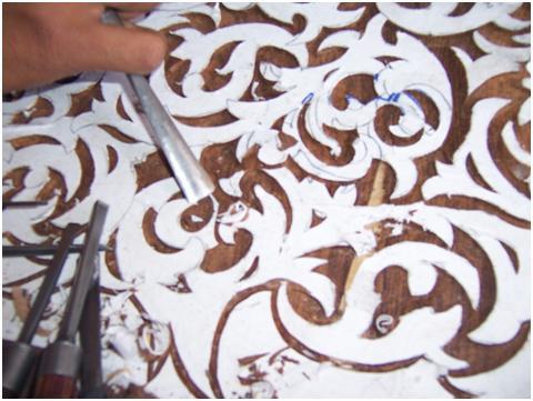 Handcarved Design