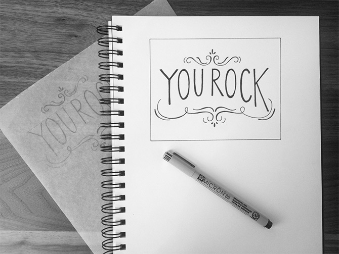 In my sketchbook | Evermore Paper Co.