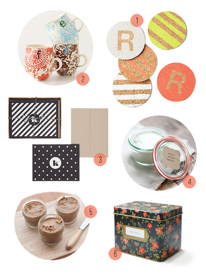 My favortie DIY and personalized hostess gifts