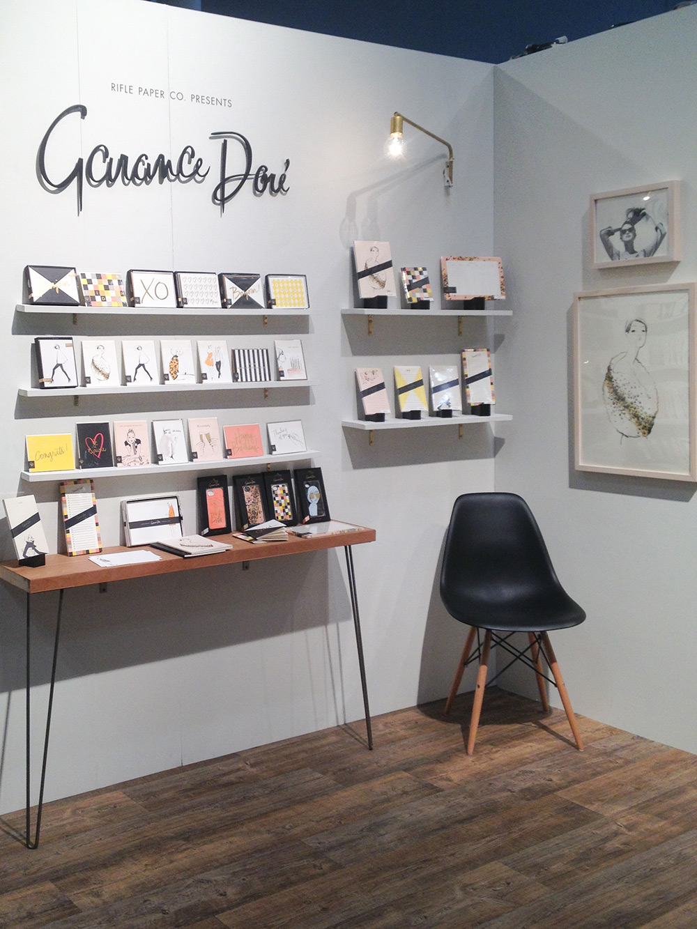 Checking out the   Garance Dore   collection from Rifle Paper Co.