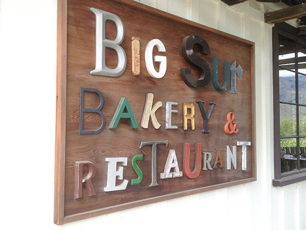 One of many mandatory stops at the Big Sur Bakery