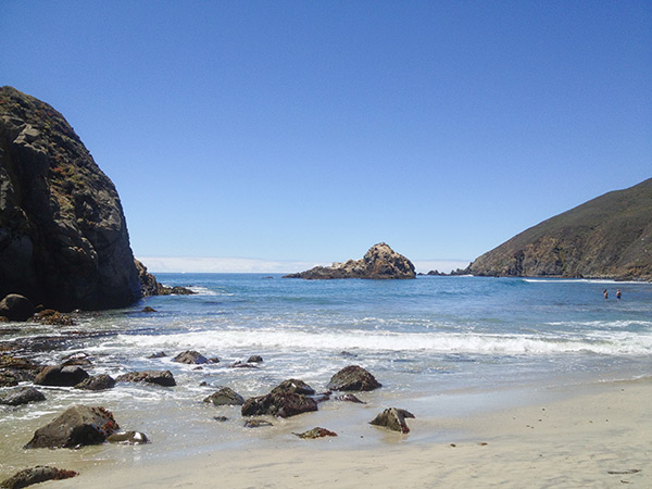 A day well-spent at Pfeiffer Beach