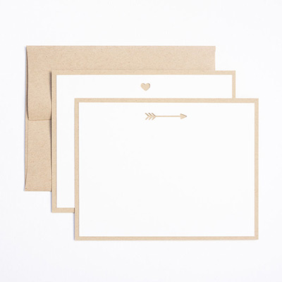 Modern Minimal Valentine's Day Cards // Evermore Paper Co.