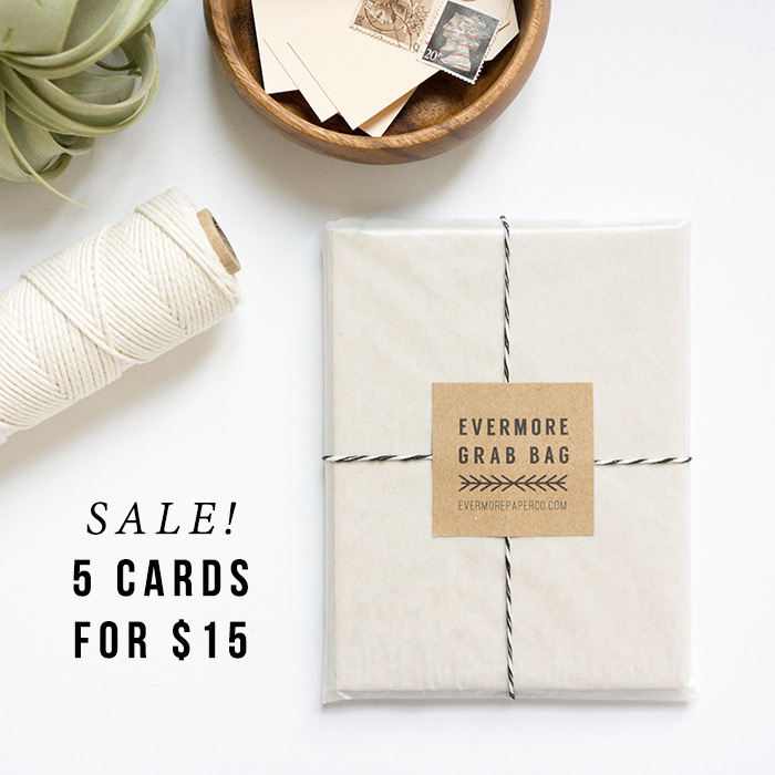 Grab Bag Sale // Evermore Paper Co.