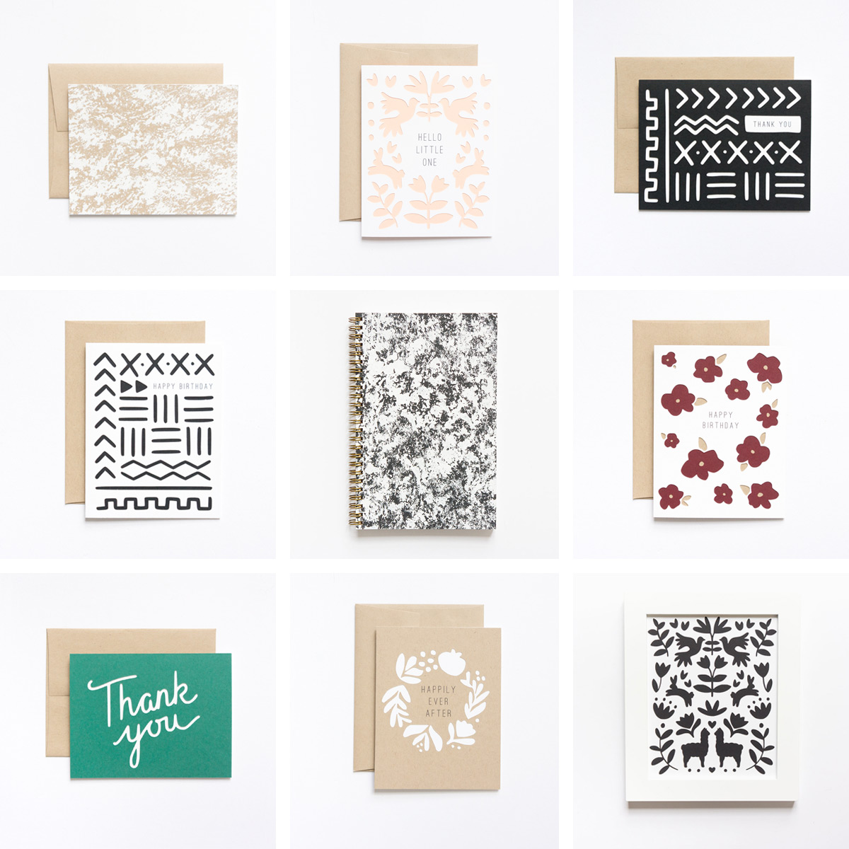 Spring/Summer Collection from Evermore Paper Co.