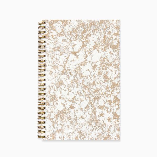 Kraft & white planner via Evermore Paper Co.