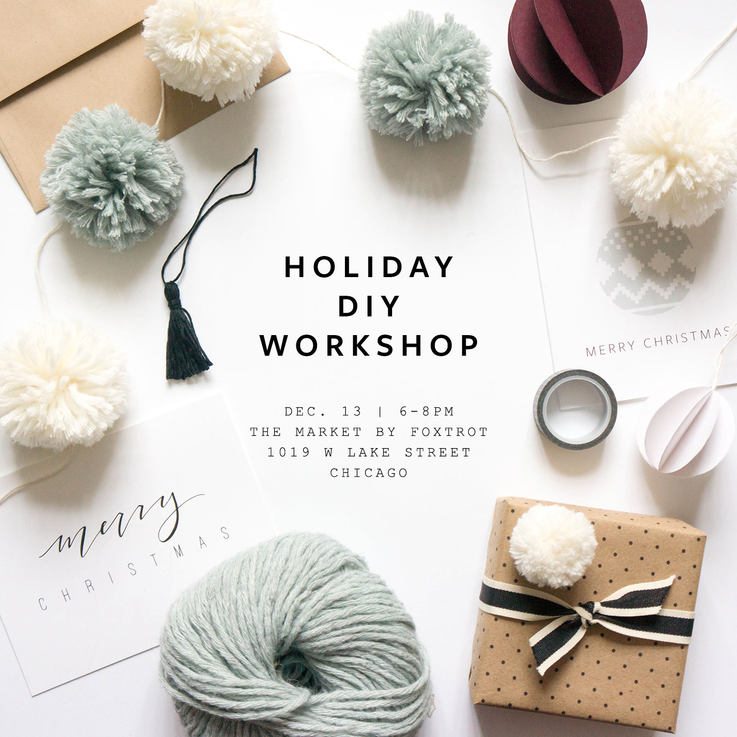 Evermore Paper Co. Holiday DIY Workshop