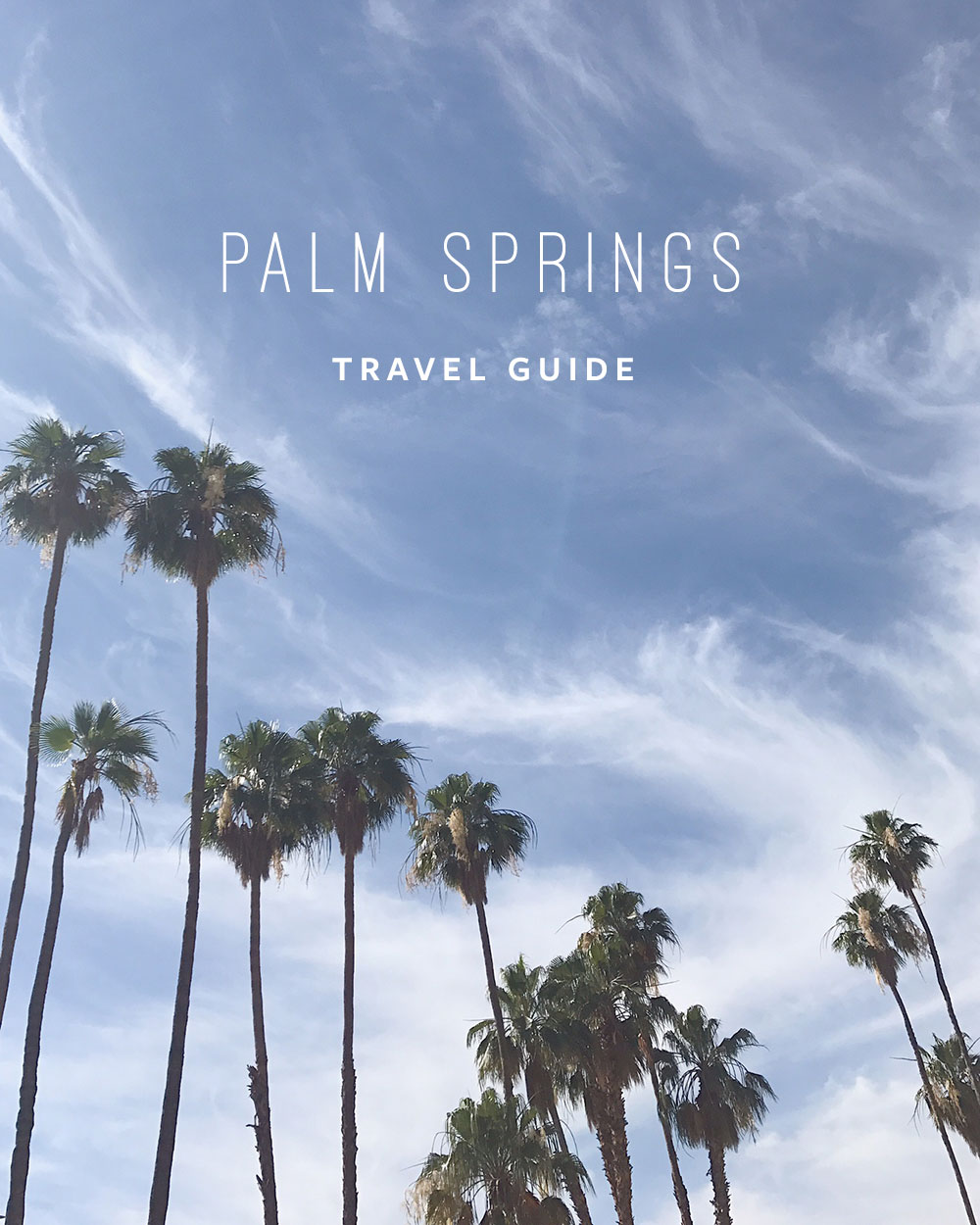 Palm Springs Travel Guide | Evermore Paper Co.