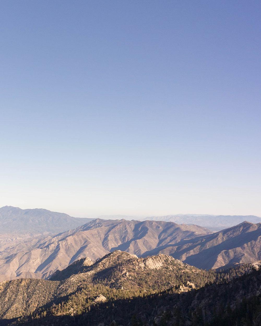 Valley vista along the Desert View Trail