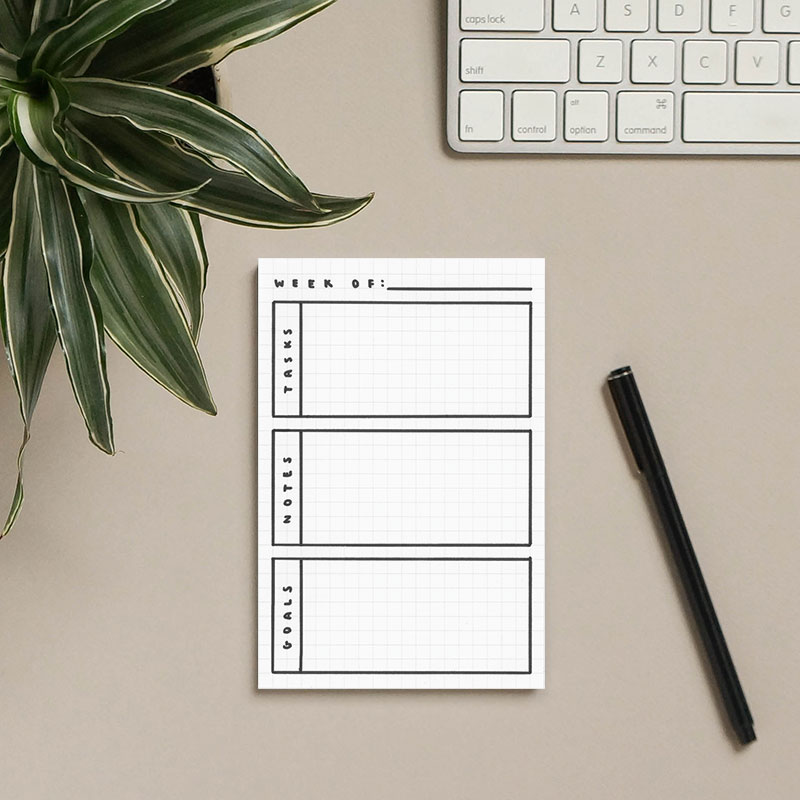 3 Simple Bullet Journal Templates
