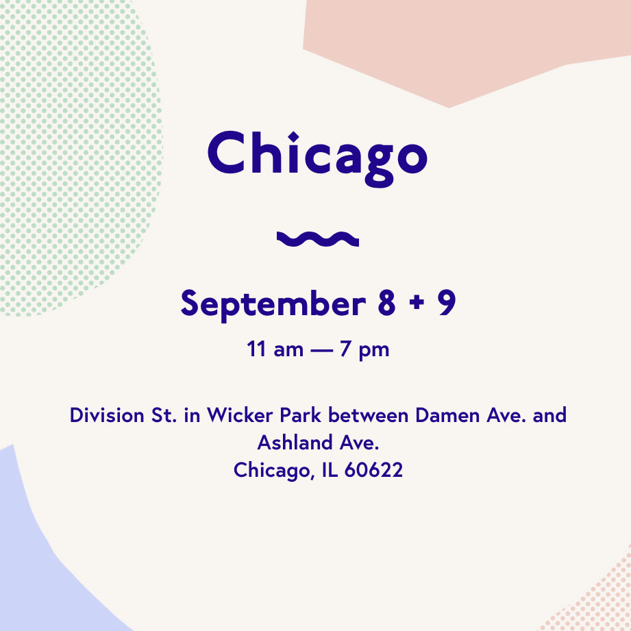 Renegade Craft Fair - Chicago Fall Market