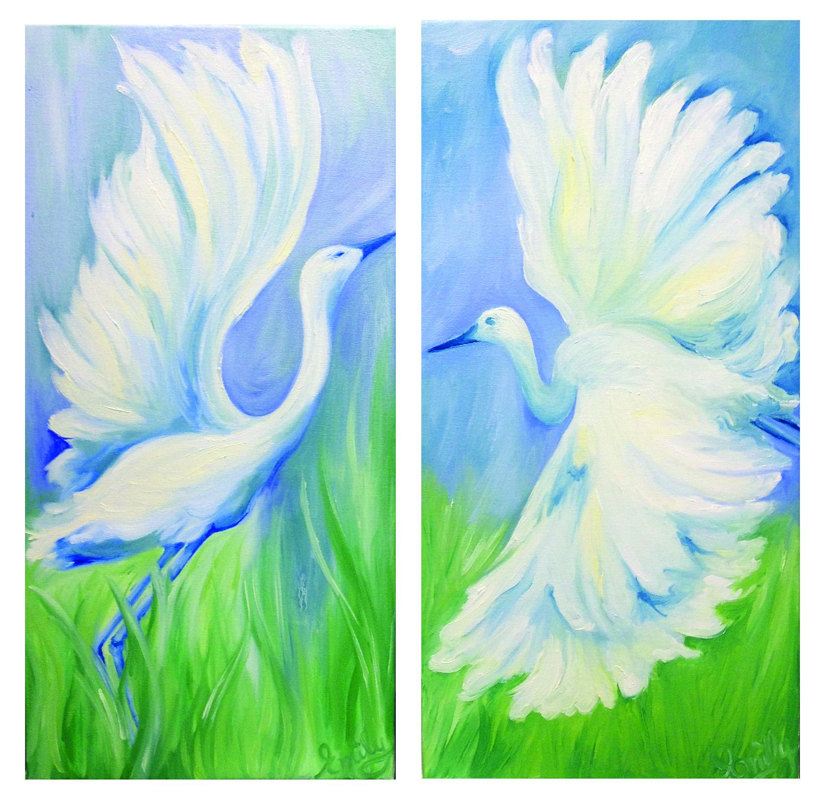 'Carolina Morning' oil on canvas - SOLD