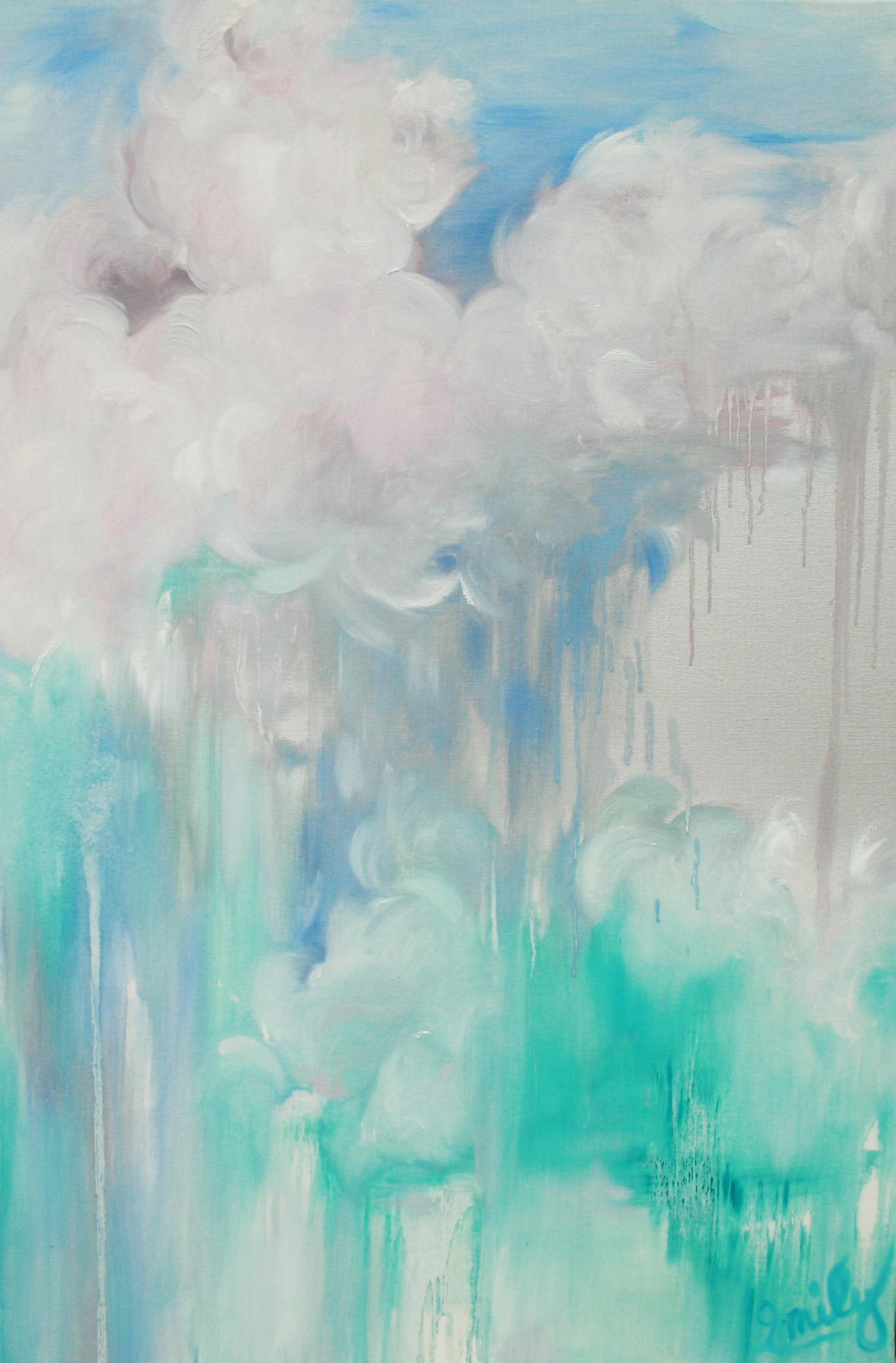 'Intracoastal Mist', oil on canvas