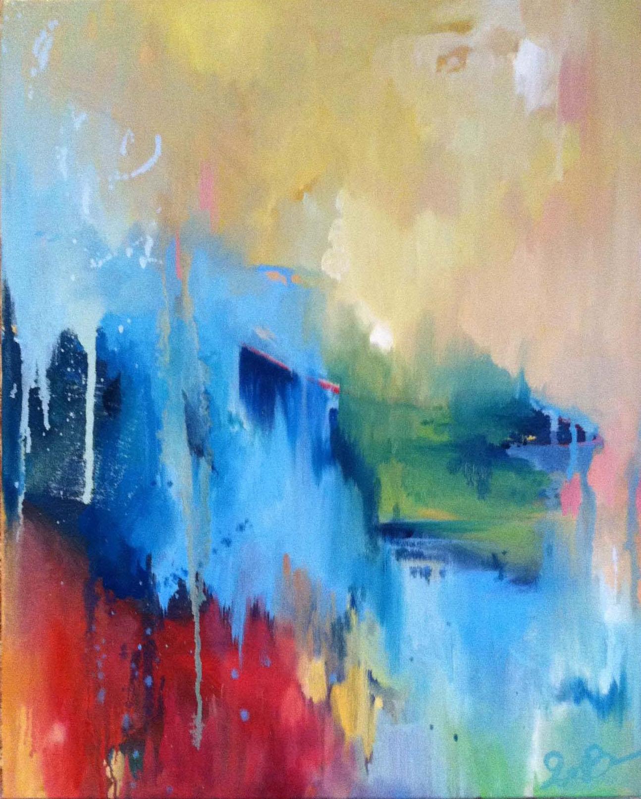 'Ocean Window', oil on canvas - SOLD