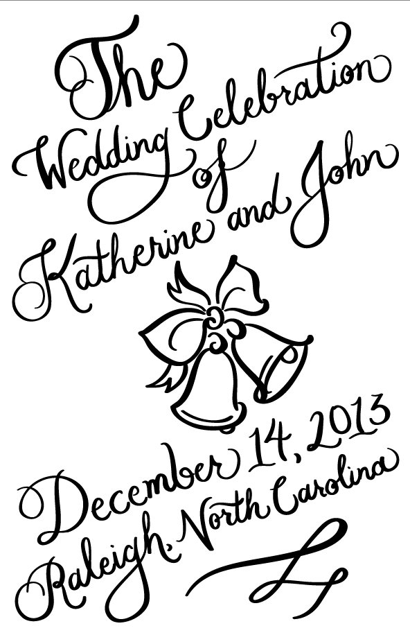 Wedding Guest Booklet Cover