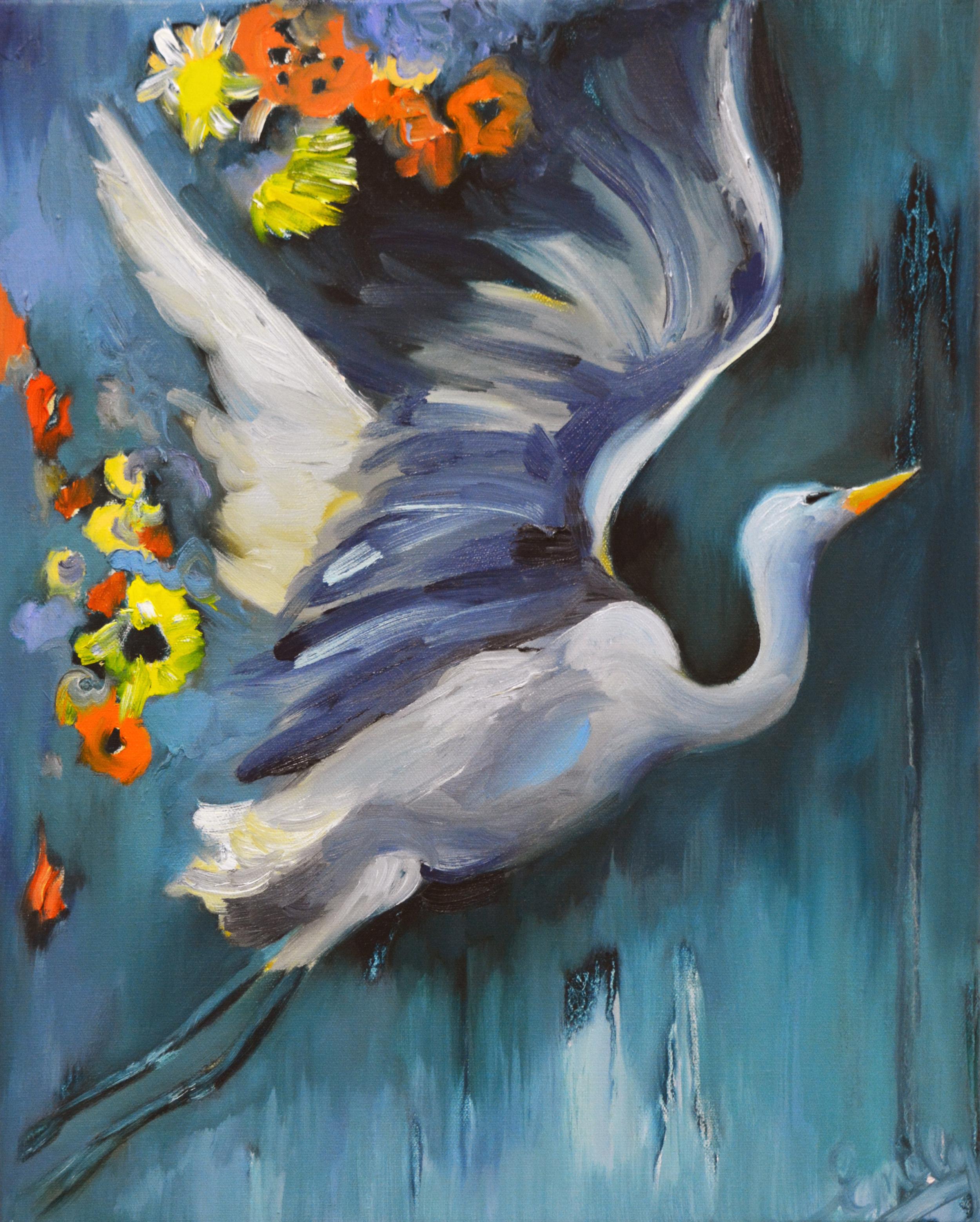 'Autumn Glory', oil on canvas