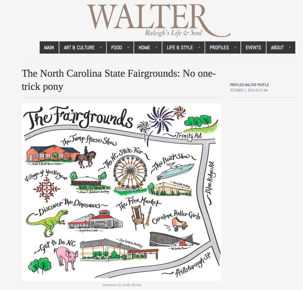 Illustration, Walter Profile. October, 2014