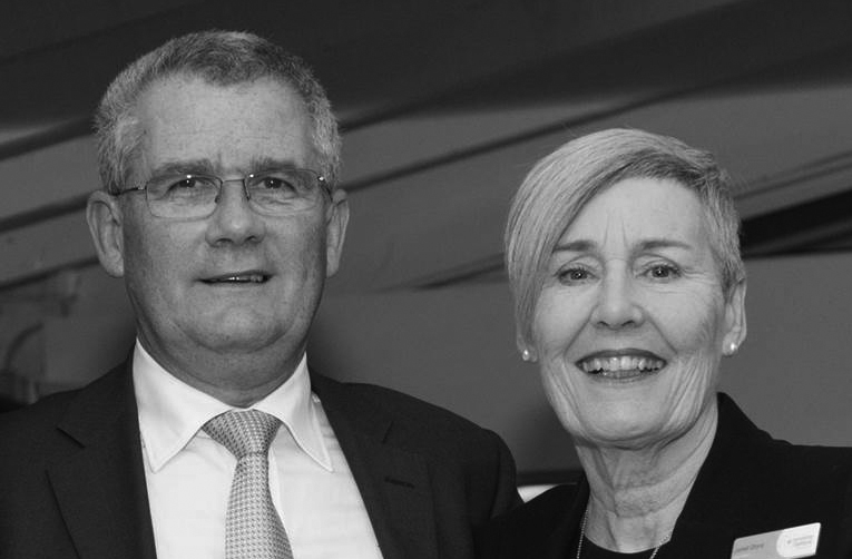 Dan Simmonds and Janet Dore. Photo courtesy of Committee for Geelong