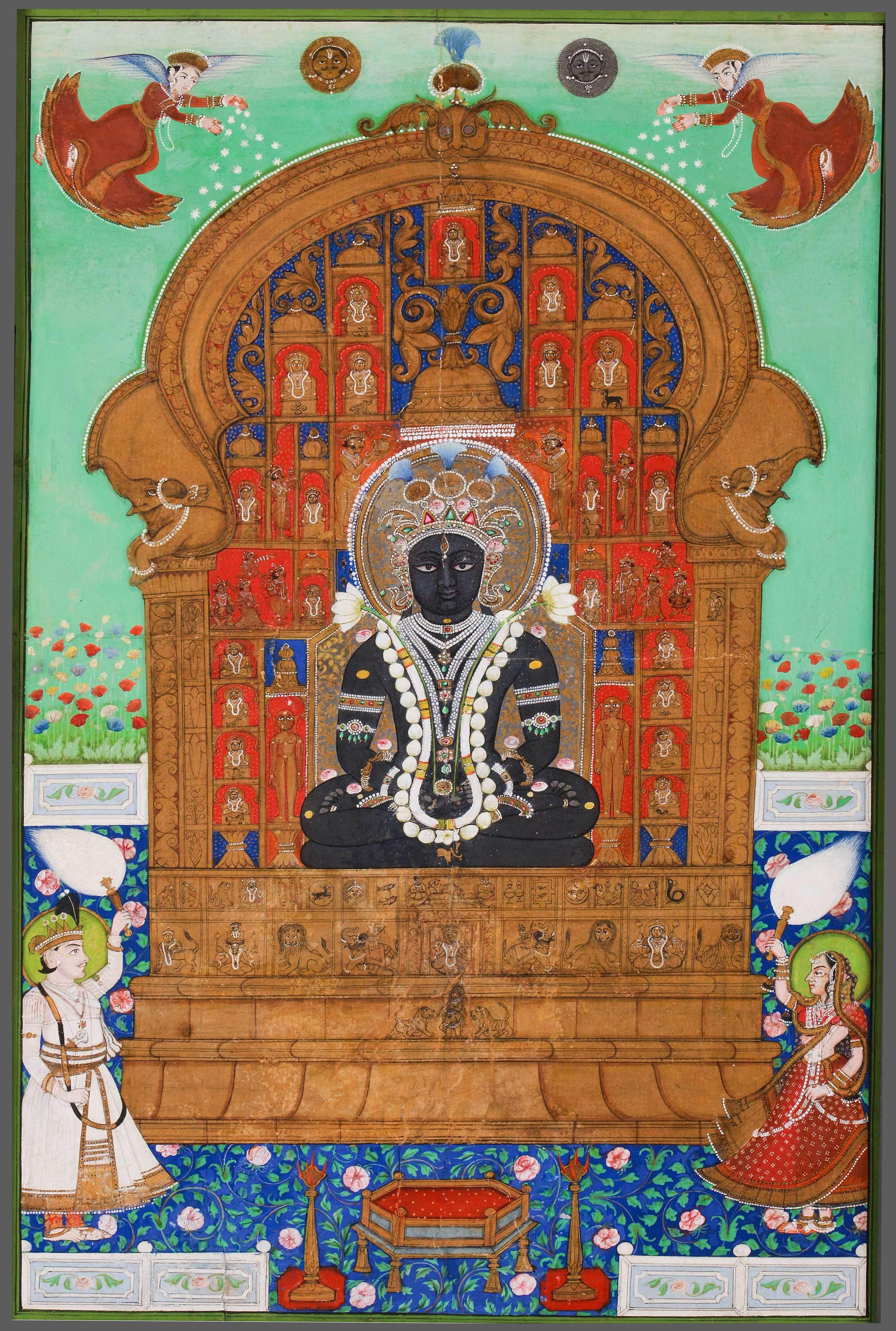 Adinath Enthroned