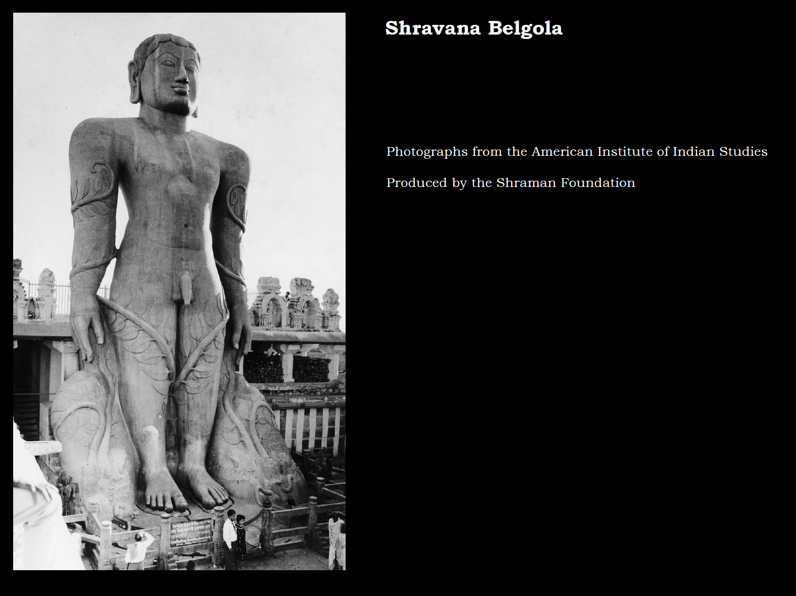 Shravana Belgola is the premier Jain pilgrimage destination in southern India. Located in the state of Karnataka, it is most famous for the colossal sculpture of the enlightened being Bahubali. This photo book explores this statue and highlights some of the other images and temples at this famous pilgrimage site.