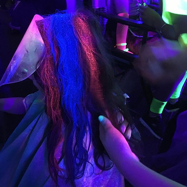 Glow hair don't care