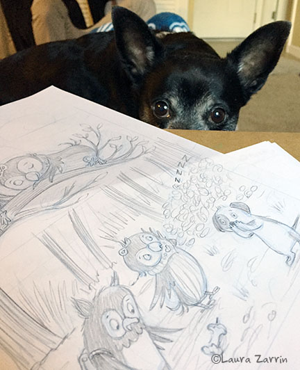 My assistant and muse, Cody.