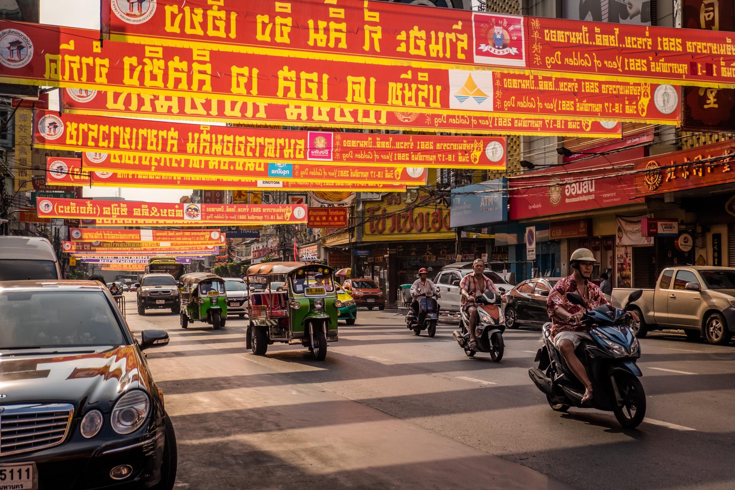 Tuk Tuk's in Chinatown