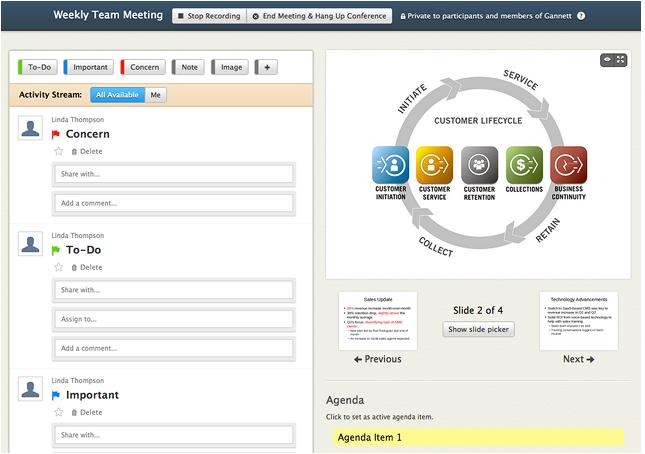 Symposia Screenshot
