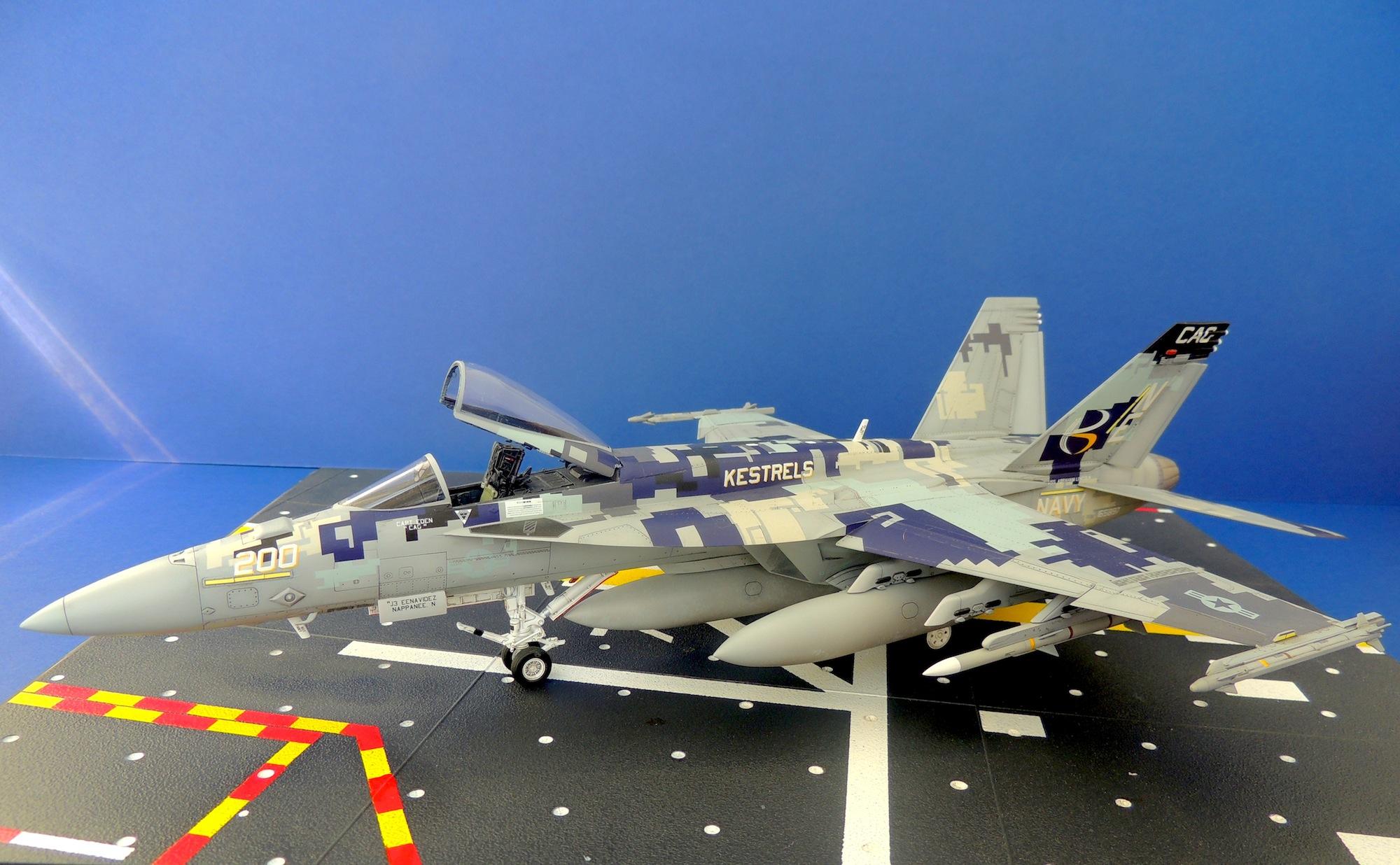 """F/A-18E Super Hornet """"VFA-137 Kestrels"""""""