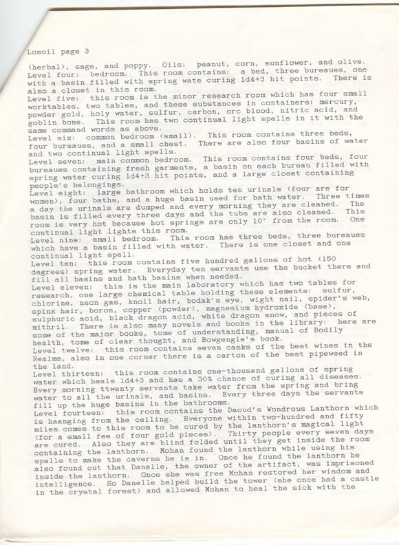 Third page of descriptions.