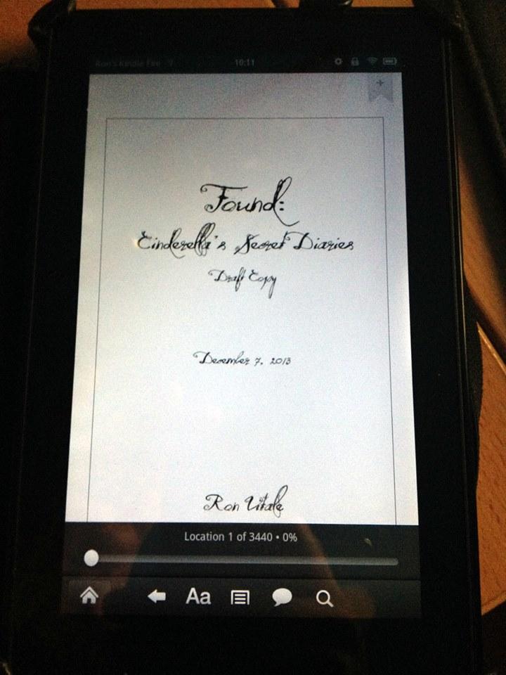 Found: Cinderella's Secret Diaries (Book 3 Draft)