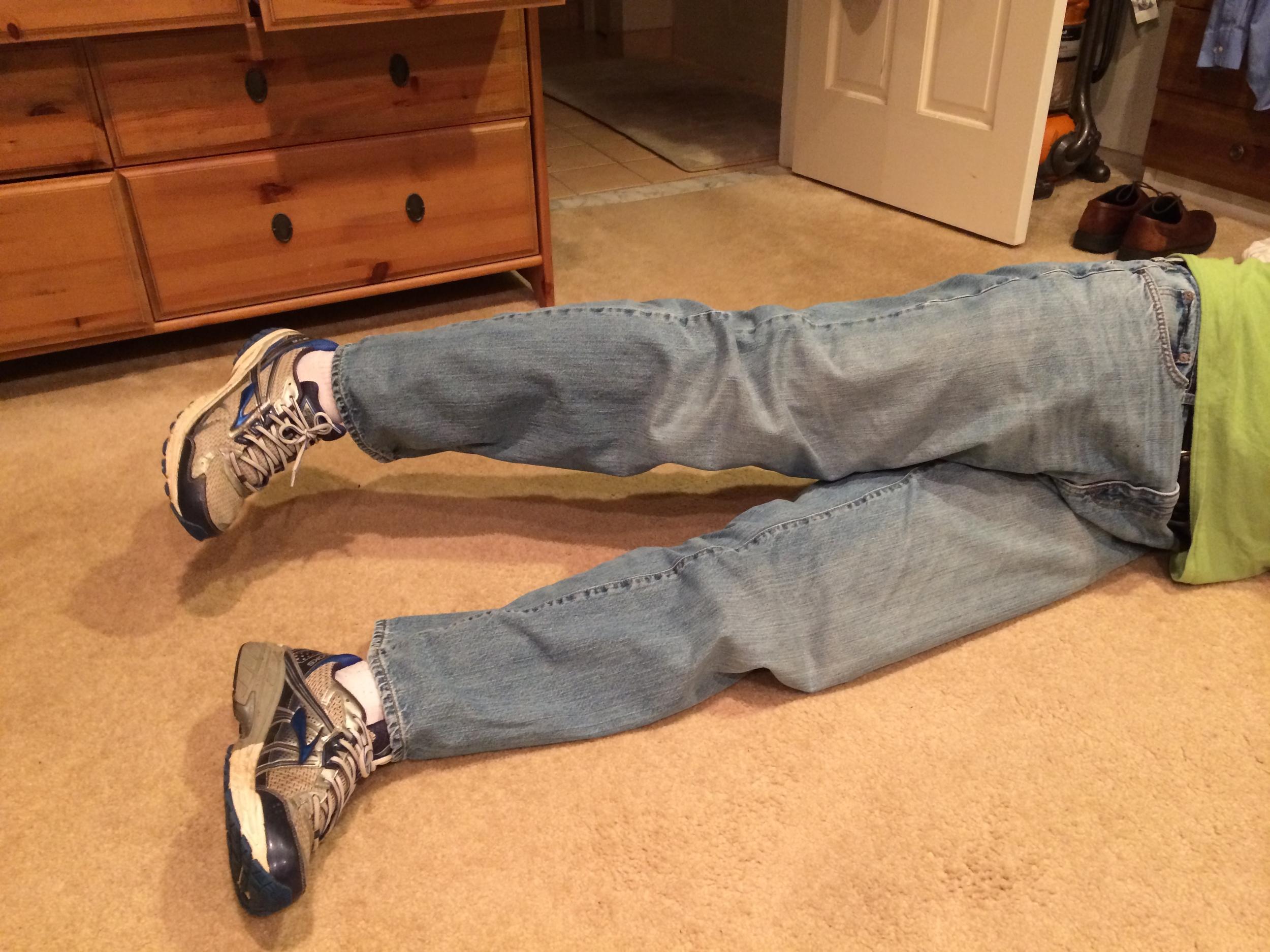 Left Side Leg Lift