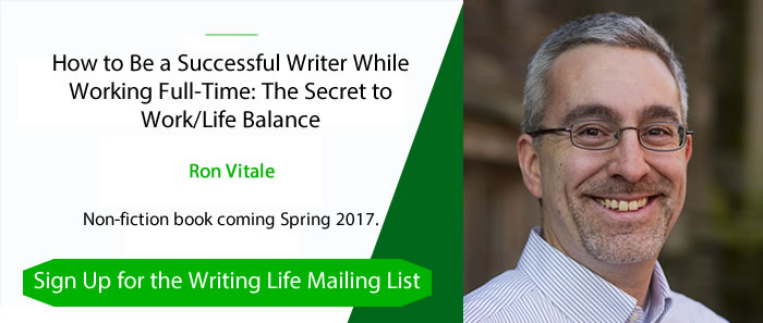 Sign up for the Writing Life mailing list
